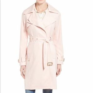 French Connection Pink Trench coat